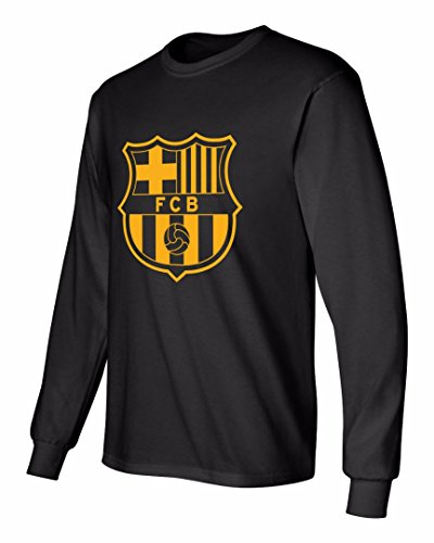 best service c53bd 503f9 Barcelona Soccer Shirt Lionel Messi #10 Futbol Jersey Youth Long Sleeve  T-shirt